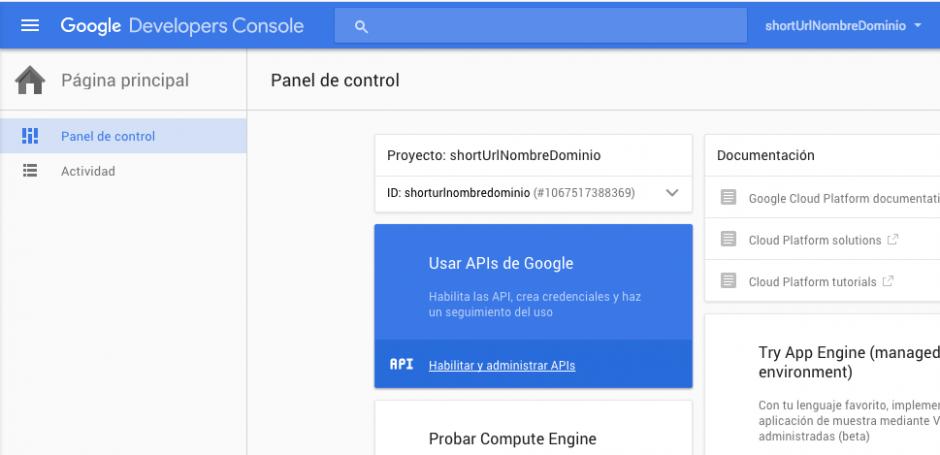 Usar API Google para WordPress